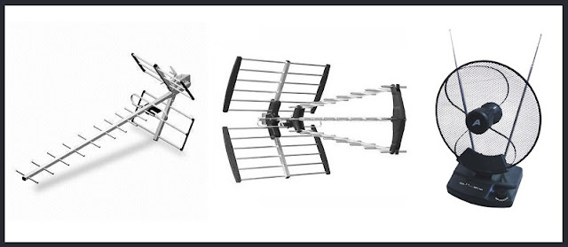 Yagi, Wide-band or Indoor antenna
