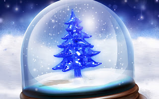 Christmas_tree_snowfall_toy_2560x1600