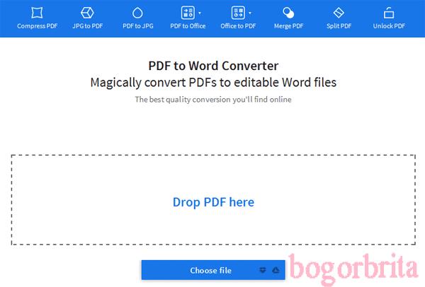 Convert PDF ke Word Online