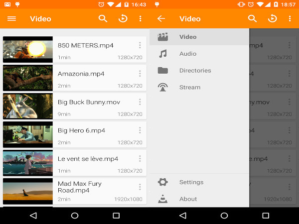 Apps para Android - VLC