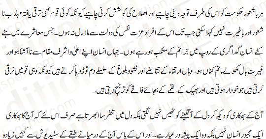 Urdu essays website