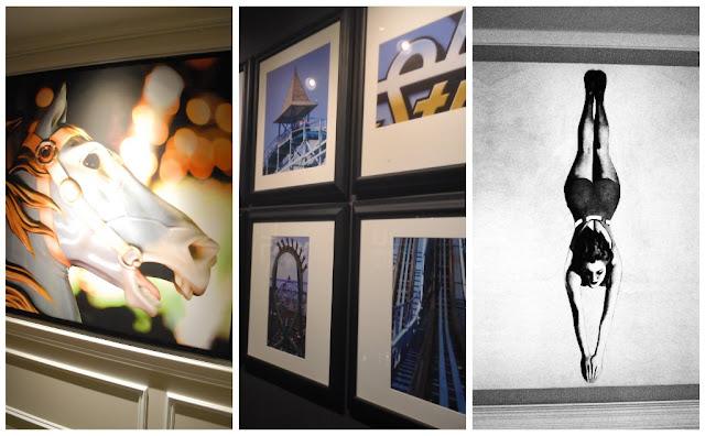 Stunning artwork @CedarPoint Hotel Breakers #bloggingatCP