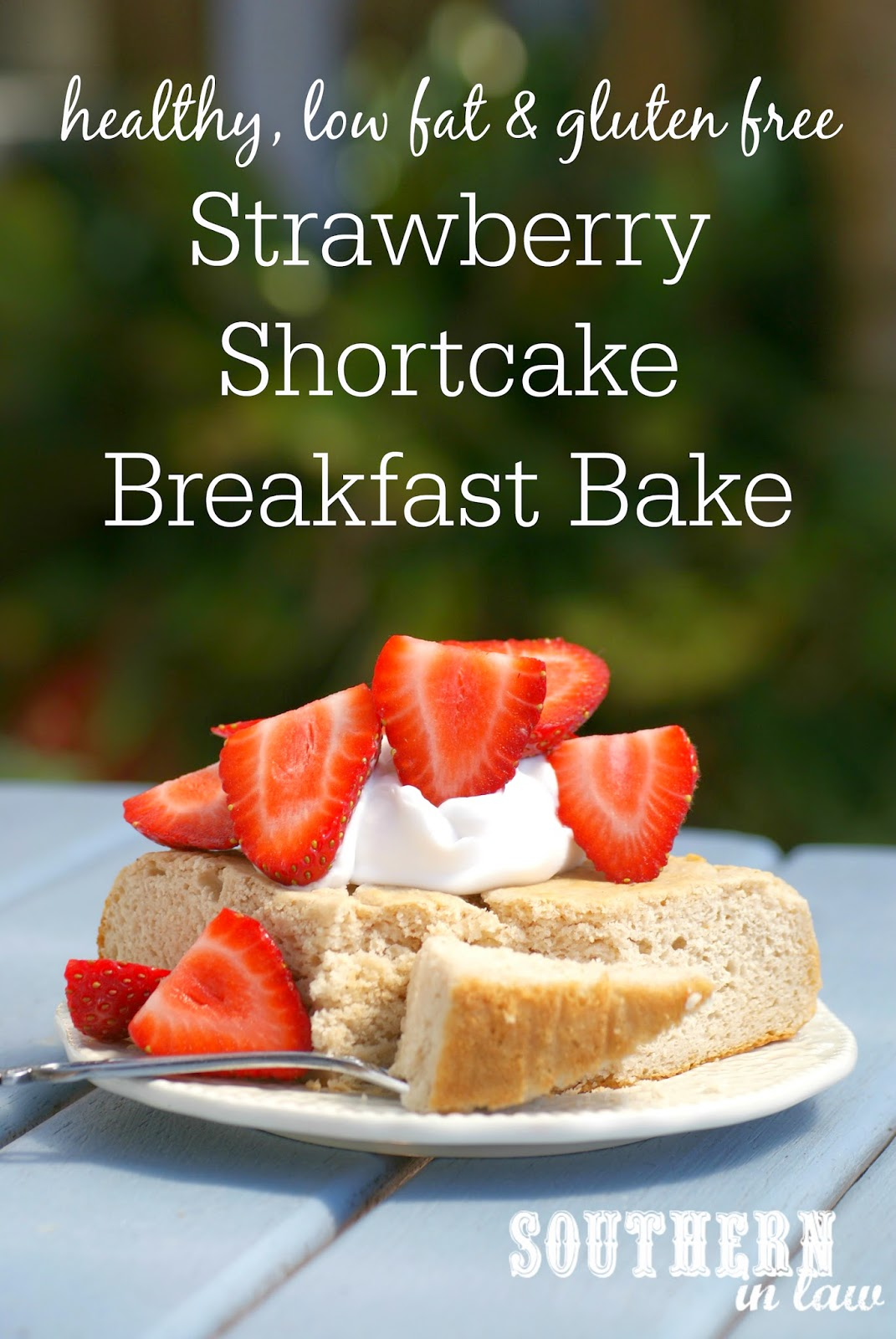 Strawberry Shortcake Breakfast Bake
