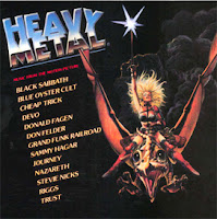 Heavy Metal Official Soundtrack OST cover