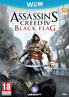 Box art for Wii U version of Assassin's Creed 4 Black Flag