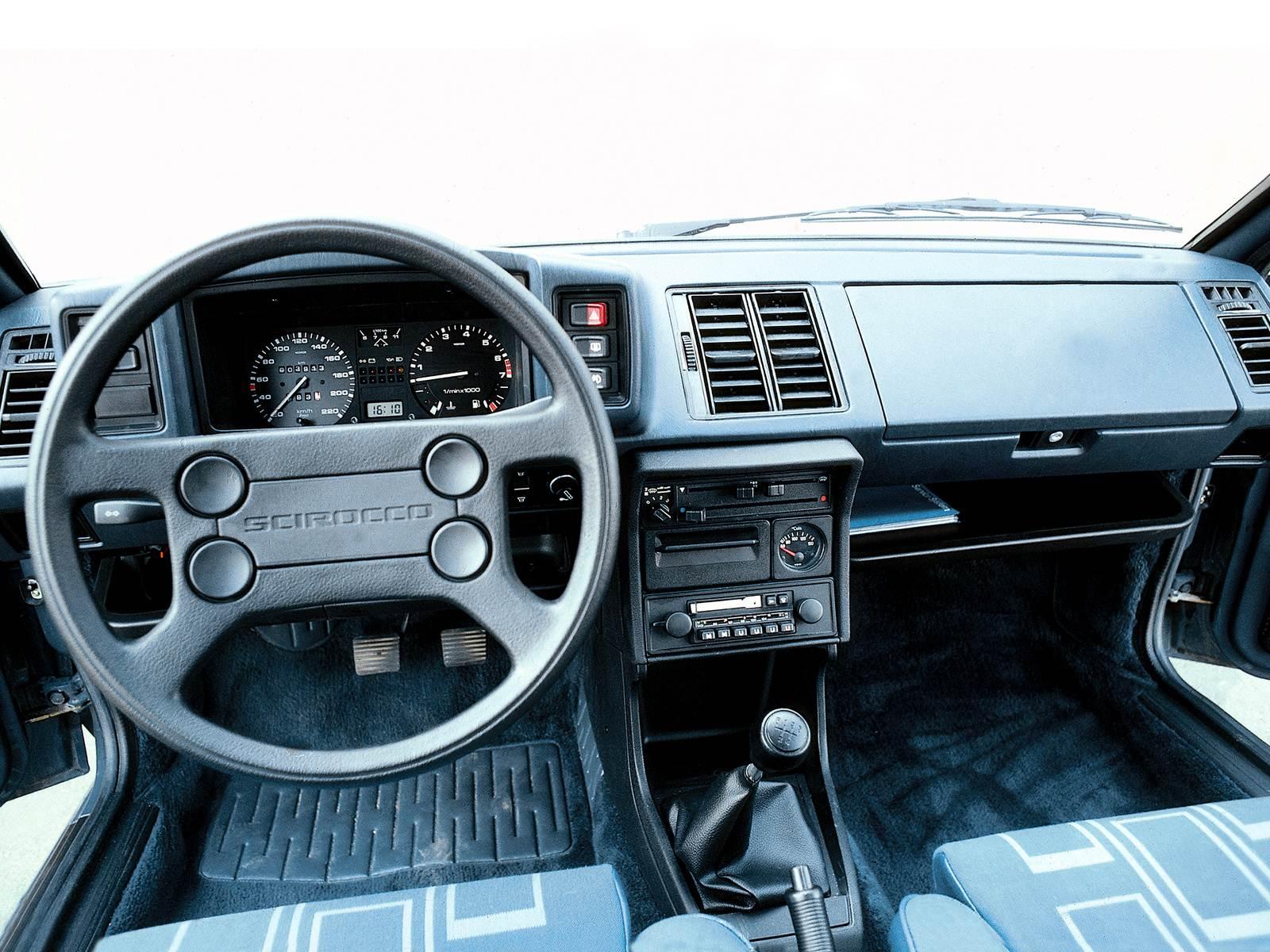 1985 Volkswagen Scirocco Interor