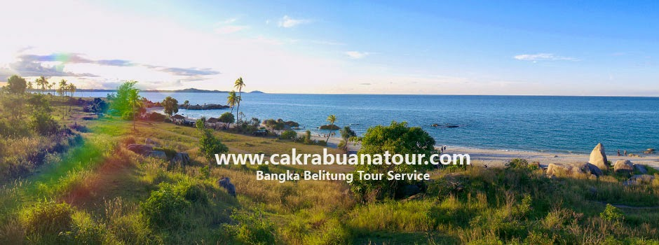 tempat wisata Pantai Rambak - Sungailiat Bangka