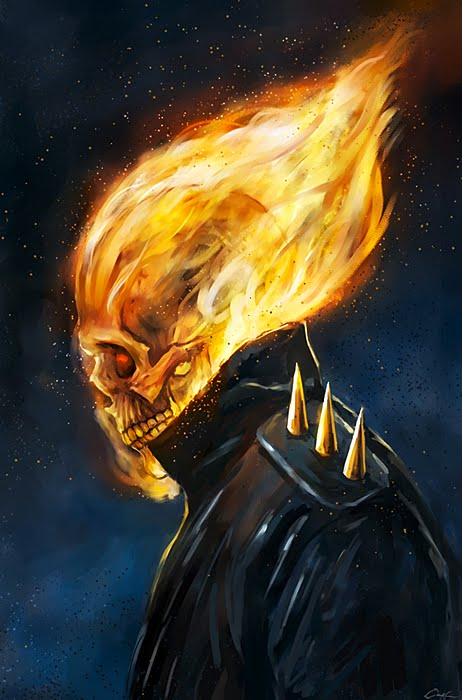 ALWAYS ON A MISSION�The Sketchbook-GHOST RIDER UPDATE!
