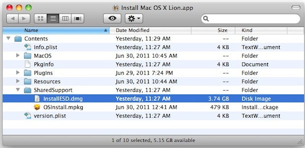 os x tiger how to choose boot disk