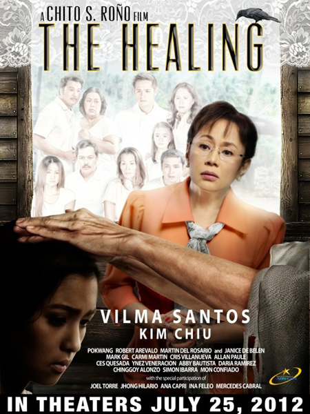 The Healing Official Movie Poster - starring Vilma Santos and Kim Chiu