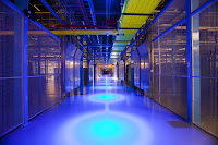 Equinix will offset the power for all of its California operations, including this Silicon Valley data center, with renewable energy fed into the San Diego grid. (Credit: technologyreview.com) Click to Enlarge.