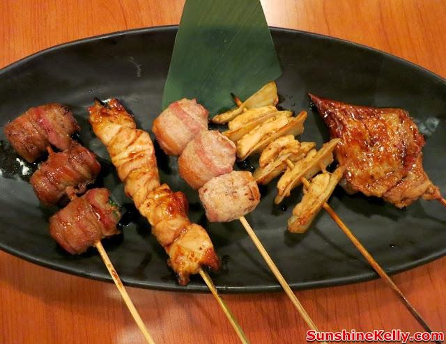 WATAMI Japanese Casual Restautant New Menu Review, WATAMI, Japanese Casual Restautant, japanese food, food, Kushiyaki Moriawase, chicken gristle skewer