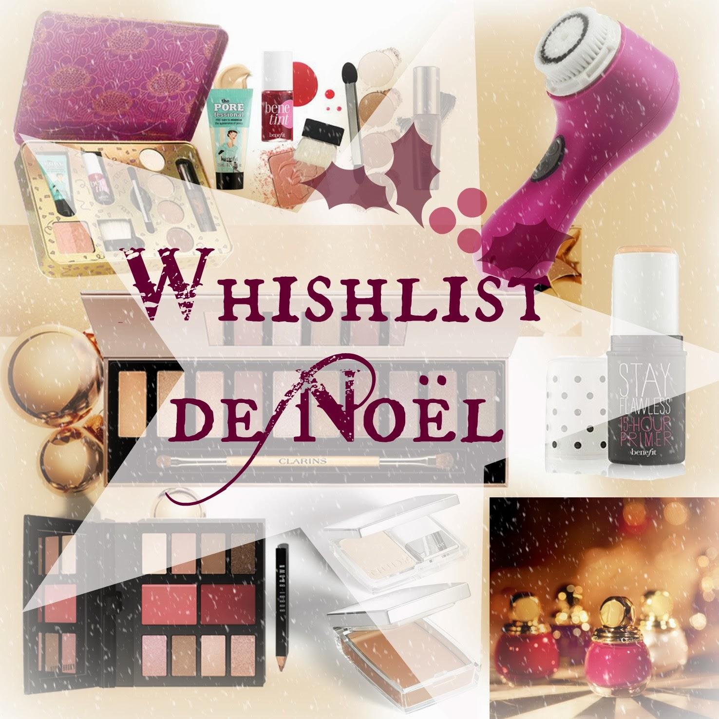 Whishlist d'hiver et de Noël en avance! ♥