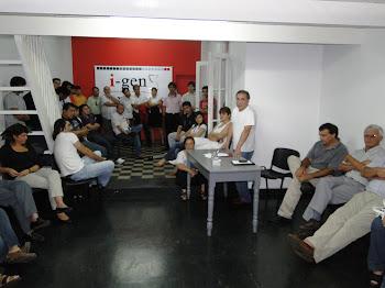 Asamblea donde se definieron las autoridades