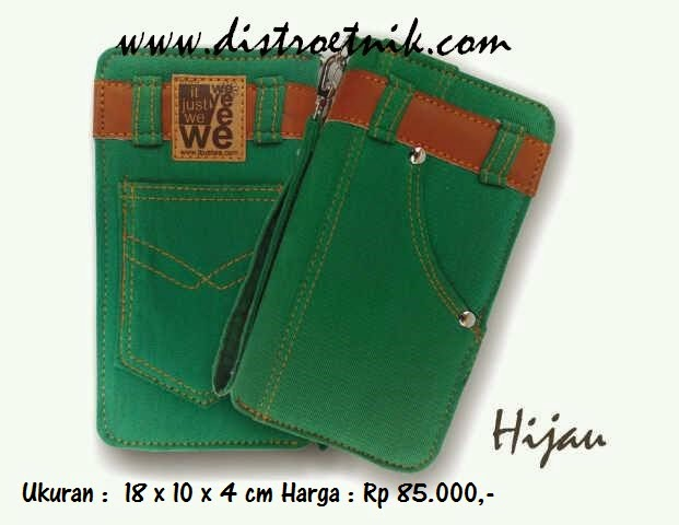 dompet jeans it just we classic series hijau