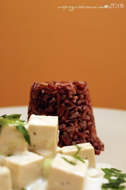 tofu in salsa di cocco e zenzero