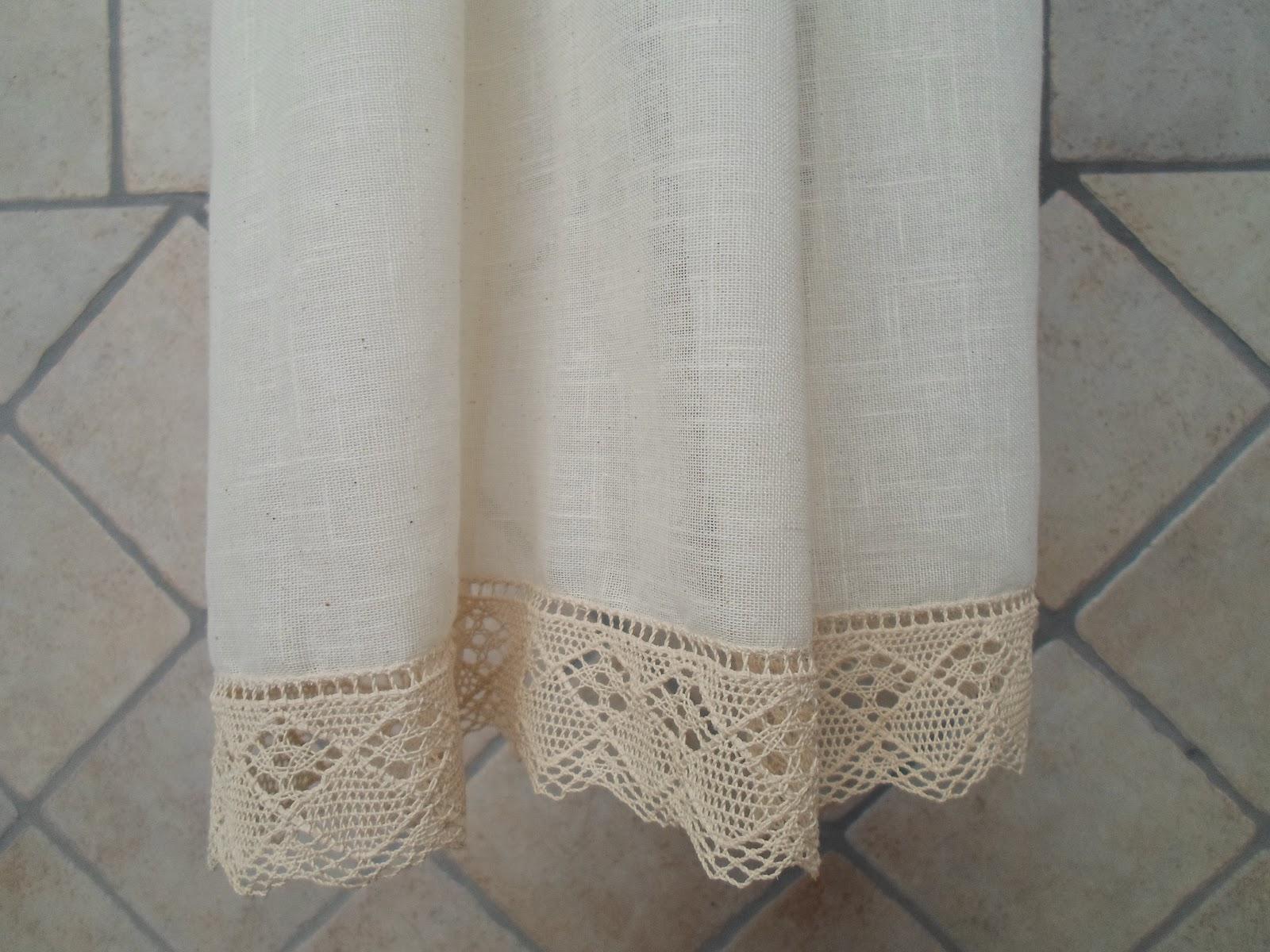 El costurero de Marisol: cortina para cocina de estilo rustico