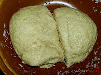 Pan de Jamón-masa partida
