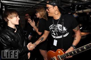 Justin meets Slash