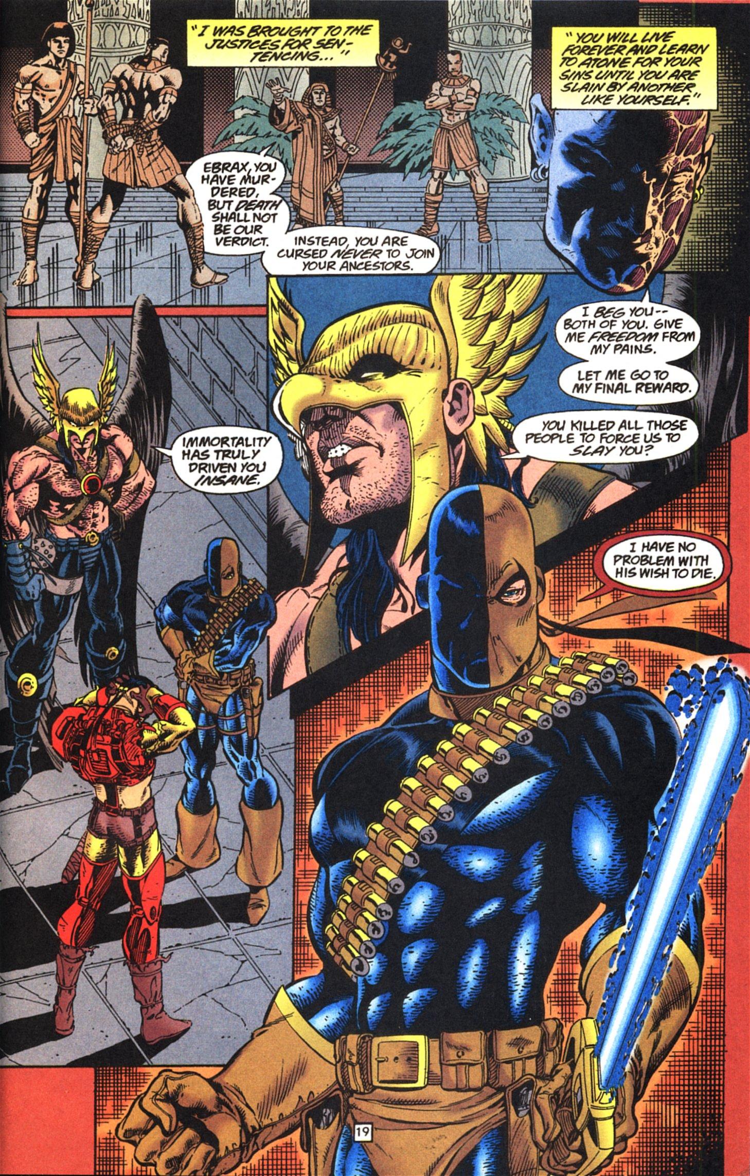 Deathstroke (1991) Issue #52 #57 - English 20