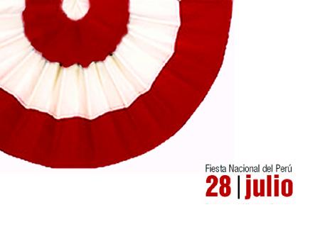 Nuevos Mensajes frases saludos por 28 de Julio, Dia de la Independencia, Fiestas Patrias, Perú 2015 para compartir