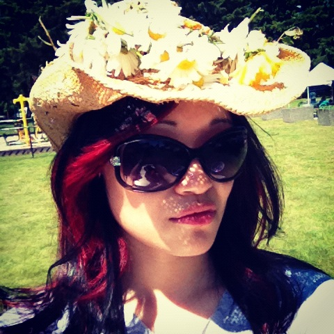 Cowboy hippie style, cowboy hats, Valentino sunglasses, summer style, flowers on hats