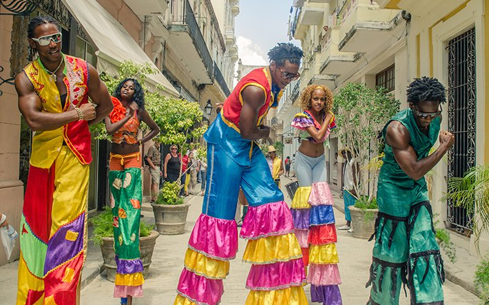 Cuban Street Dancing