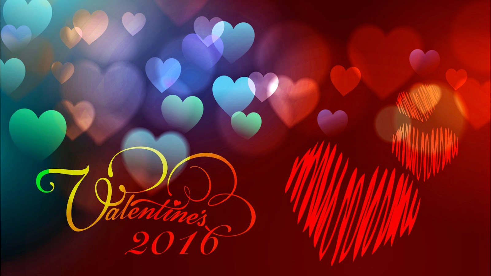 happy valentine: Happy Valentines Day 2016 Wallpaper
