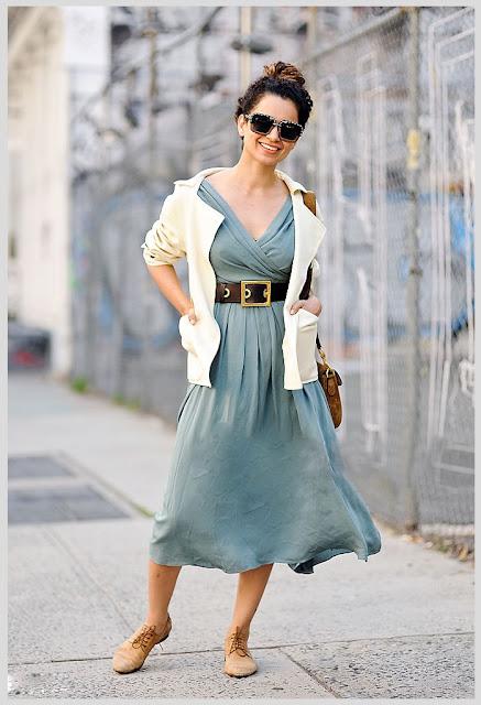 Kangana Ranaut wearing a Gucci dress, Burberry jacket, Prada sunglasses and a bag