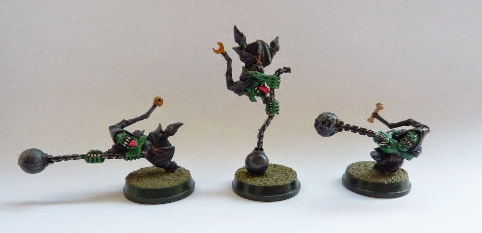 Night Goblin fanatics from Warhammer Fantasy Battle.