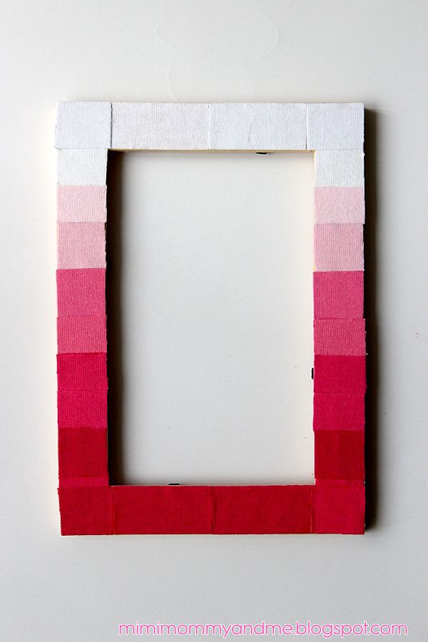 DIY Picture Frame Refashion Tutorial