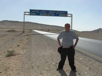 ENTRE SIRIA E IRAK, TRAS VISITAR LA CIUDAD DE PALMIRA