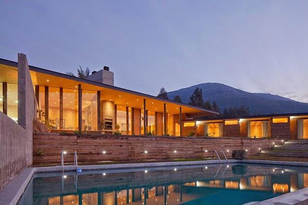 Casa Corcolenda diseñada por los arquitectos Manuel Dorr y Pablo Schmidt 6