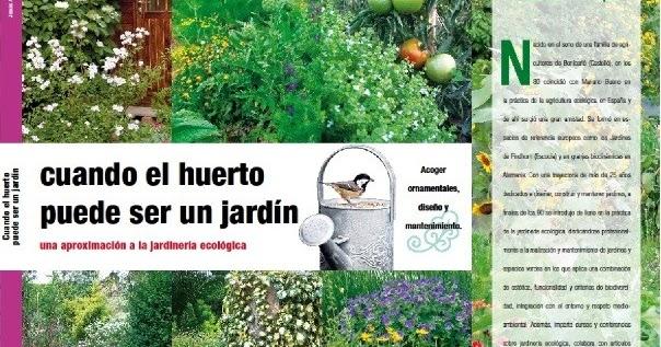 Huerto jardin ecologico las plagas comprender el porqu for Huerto y jardin