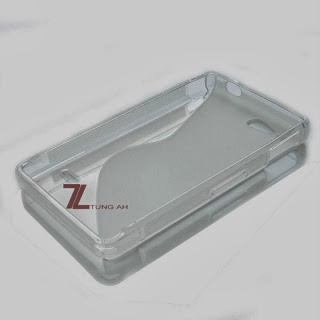 Clear (S Line) TPU GEL Case Cover for Sony Xperia go, advance, ST27i, ST27a