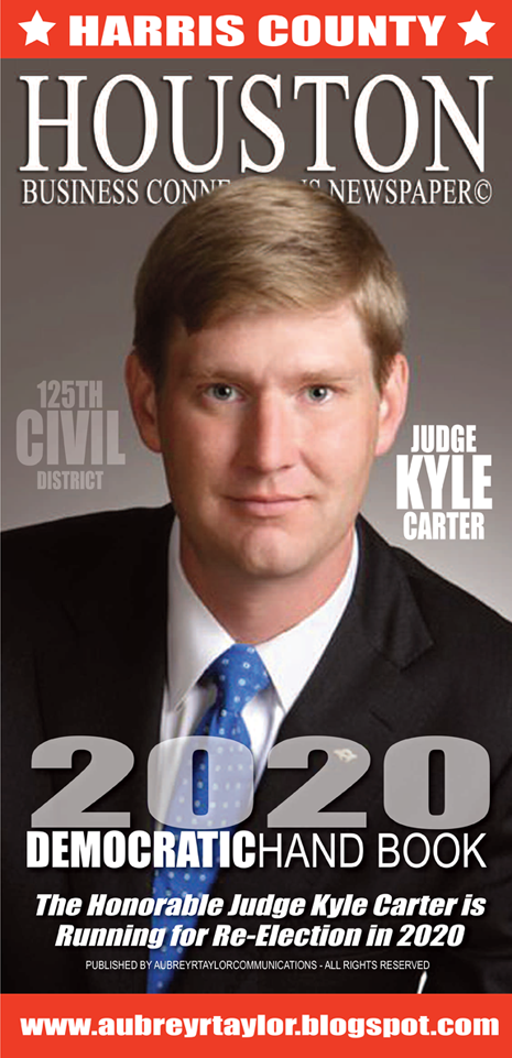 Judge Kyle Carter for the 125th Civil District Court in Harris County, Texas
