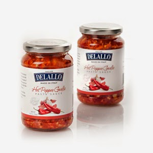 http://www.delallo.com/products/imported-garlic-oil-hot-pepper-sauce