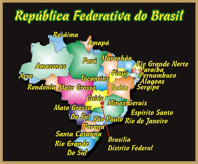 Os 27 Estados Brasileiros