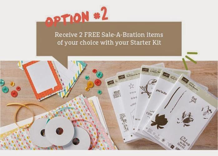 Option 2 Stampin Up Saleabration 2015
