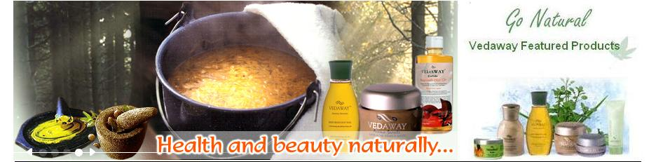 Vedaway Herbal and Ayurvedic Body Care Products.