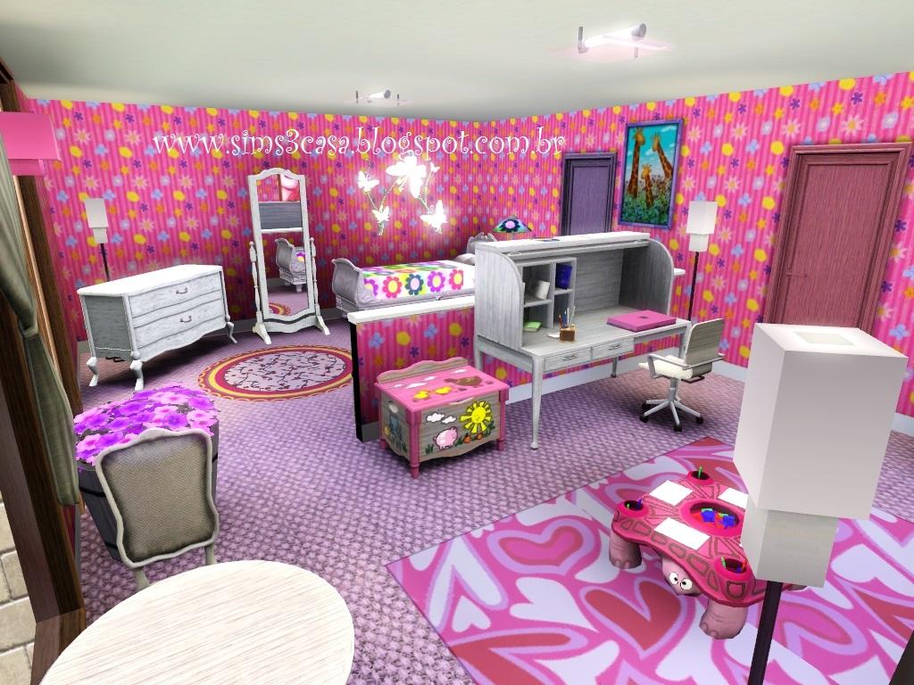 The sims 3  Casas Sweet Home -> Banheiro Feminino Translation