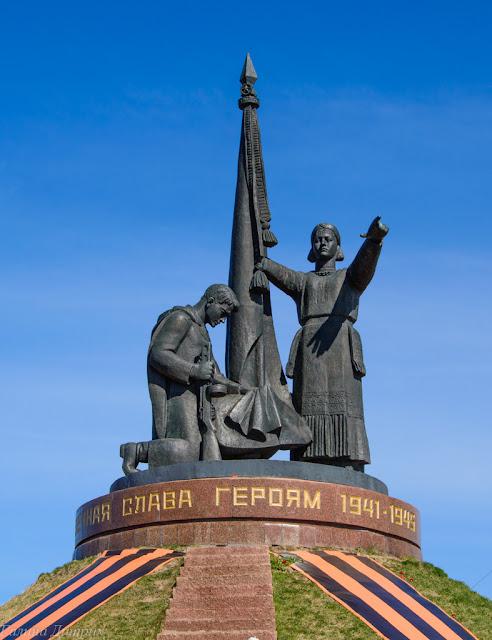 Путешествия: О жизни: Монумент Воинской Славы Чебоксары