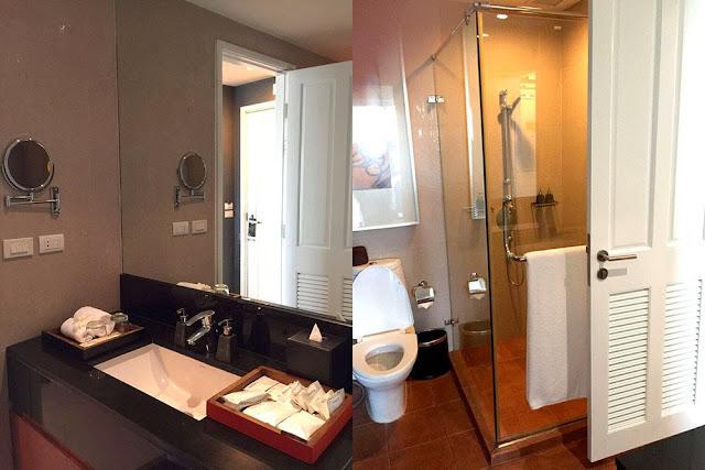Anantara Baan Rajprasong 一房套房 浴室