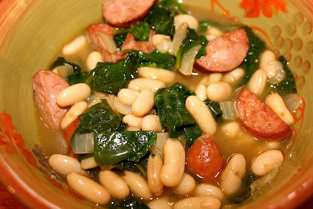 Sausage &amp; White Bean Stew