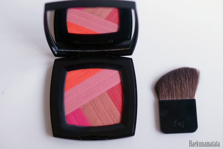 Chanel sunkiss ribbon blush swatch & review_1