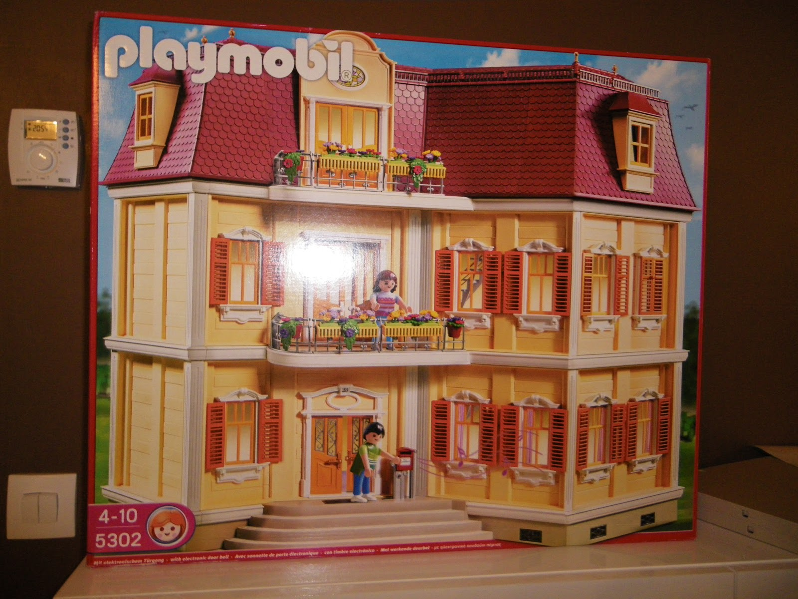 maison playmobil pas cher. Black Bedroom Furniture Sets. Home Design Ideas