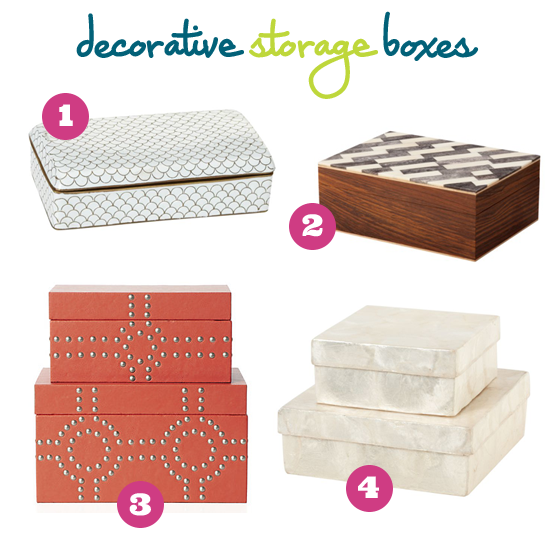 iheart organizing a thrifty decorative storage box - Decorative Storage Boxes