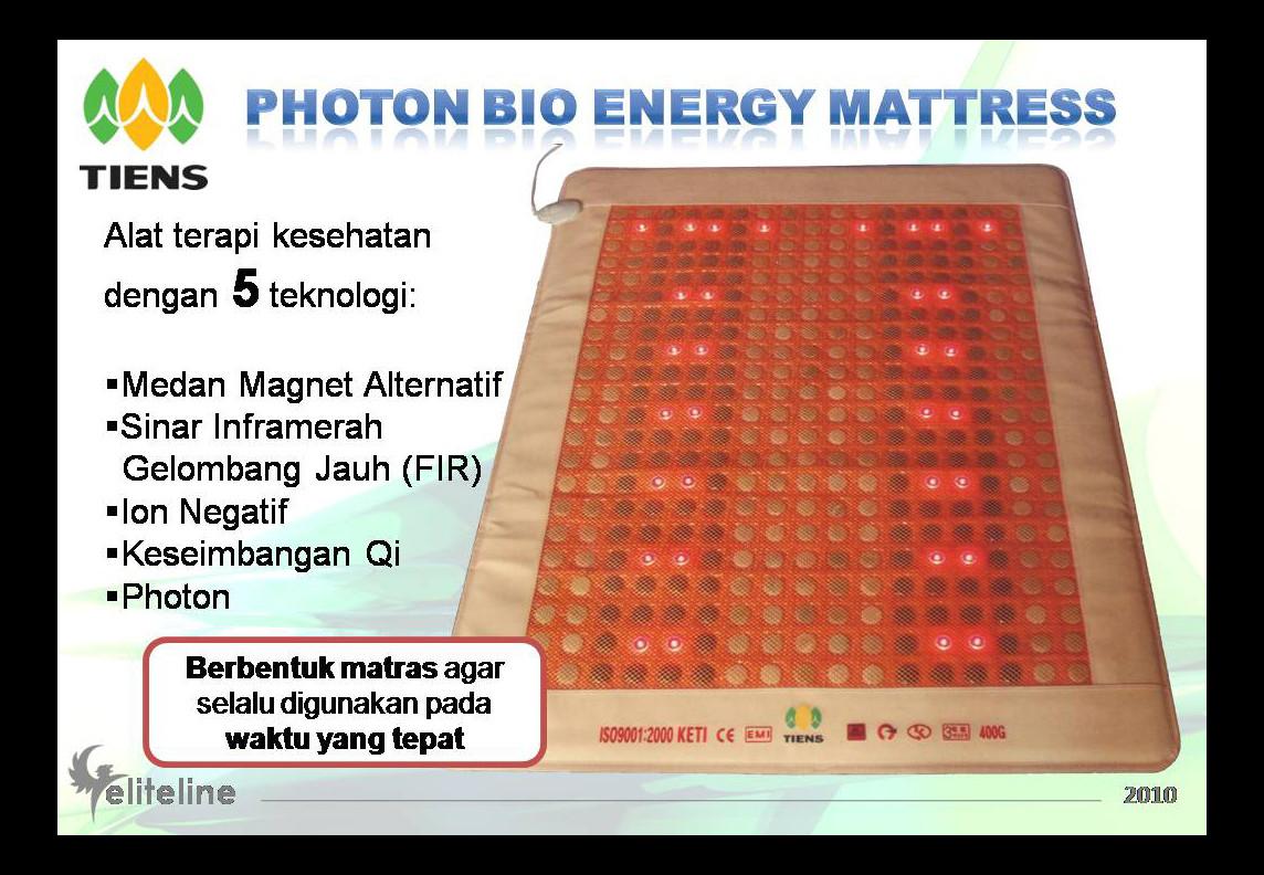 Deto Tiens 2015 03 29 Galaxs Herbal Bpom Photon Bio Energy Mattress