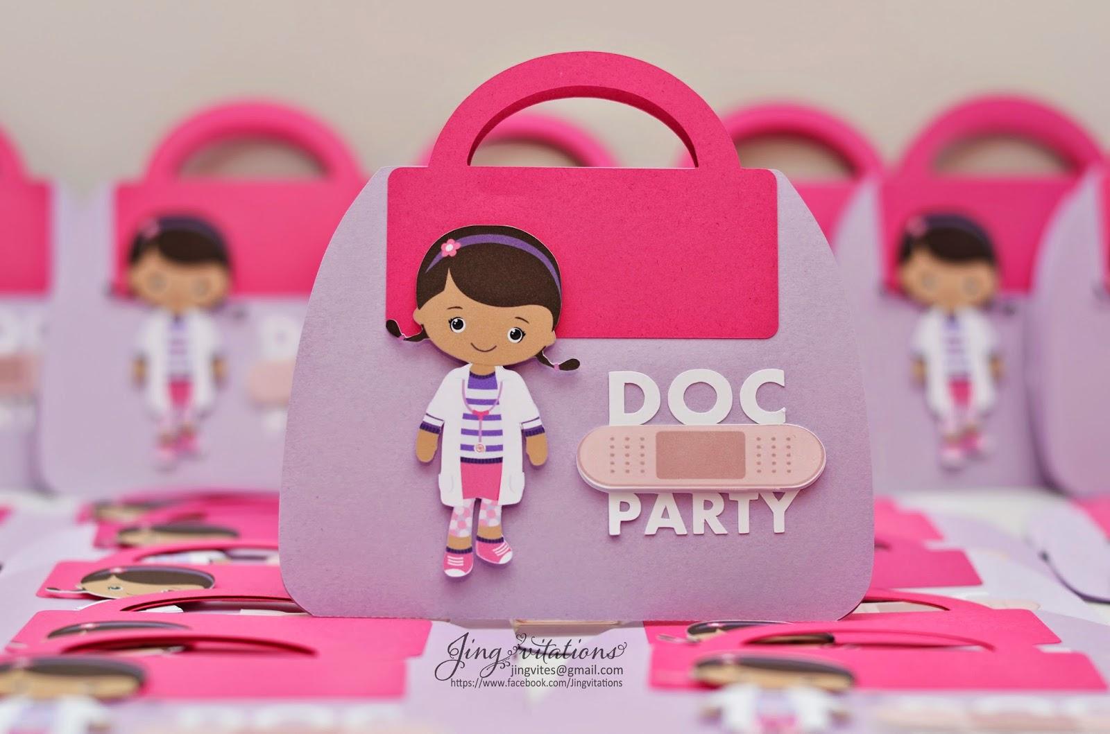 doc mcstuffin invitations