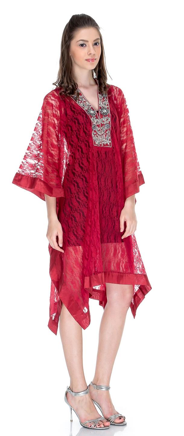 Pakistani embroidered kurti fancy fashion